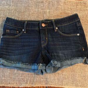 Mossimo Mid Rise Short Shorts